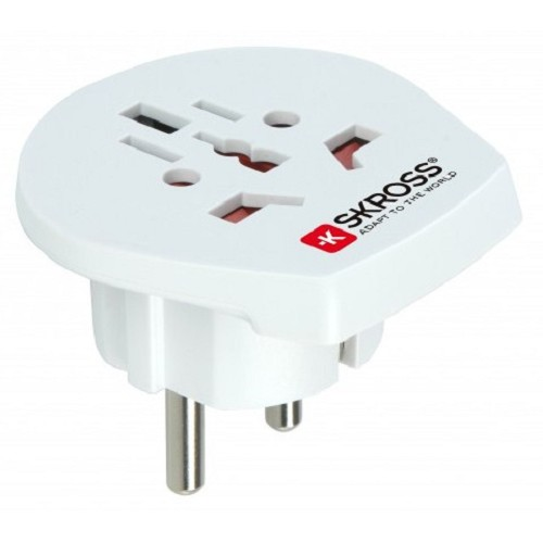 SKROSS World to Eroupe [1.500211] - Universal Travel Adapter
